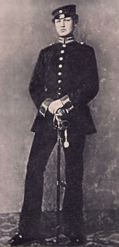 Hindenburg as a lieutenant in the 3rd Garderegiment in 1870[clarification needed]