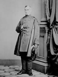 Maj. Robert Anderson, photo by Mathew Brady