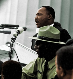 "Martin Luther King Jr. considered Mays his ""spiritual father""."