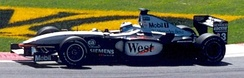 Mika Häkkinen completed his final season in Formula One by taking two victories, in Britain and in the United States.