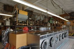 The Washing Machine Museum in Mineral Wells, Texas