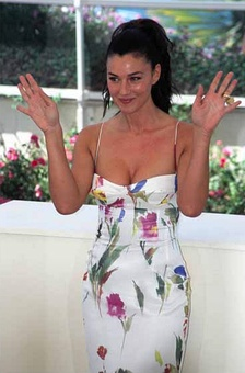 Monica Bellucci at the 2002 Cannes Film Festival for the promotion of Irréversible