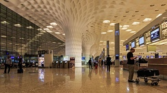 Terminal 2 at Mumbai's Chhatrapati Shivaji International Airport.