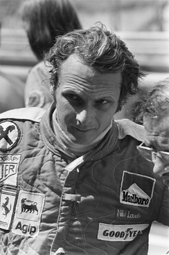 Niki Lauda won the race for Ferrari.