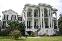 Nottoway Plantation located near White Castle, 26 miles (42 km) south of Baton Rouge