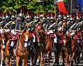 French Republican Guard — 2008 Bastille Day military parade