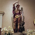 St. Michael the Archangel and the Dragon. Queen of Archangels Roman Catholic Parish, Clarence, PA