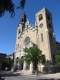 St. Stanislaus Kostka Church in Chicago, Illinois, the city's first Polish parish