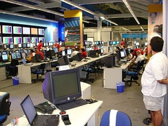 View of the ATHOC Technology Operations Center during the Games.