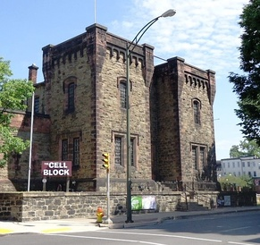 Lycoming County Prison was built between 1799 and 1801; today it is a night club.