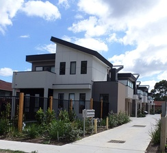 A photograph of Townhouses in Victoria, Australia