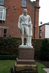 Statue of William Wilberforce in Garden of Wilberforce House