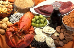 Rich sources of copper include oysters, beef and lamb liver, Brazil nuts, blackstrap molasses, cocoa, and black pepper. Good sources include lobster, nuts and sunflower seeds, green olives, avocados, and wheat bran.