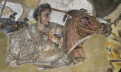 Alexander Mosaic, National Archaeological Museum, Naples.
