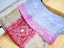 Bandhani saris of Gujarat and Rajasthan
