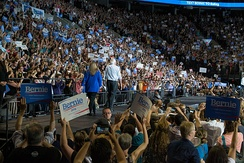 Bernie Sanders rally in Portland, Oregon, August 2015