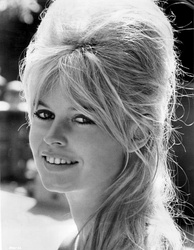 Brigitte Bardot was one of the most famous French actresses in the 1960s.