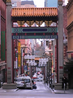 Chinatown, Melbourne. Multiculturalism has contributed to the development of a diverse local cuisine in Australia.