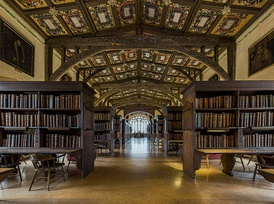 Duke Humfrey's Library, Oxford, England
