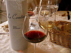 French wines are usually made to accompany French cuisine.