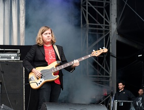 Bassist William Cashion at the Kosmonaut Festival (2015)