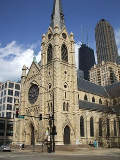 Chicago's Holy Name Cathedral is the mother church of one of the largest Catholic dioceses in the United States.