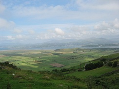 View of Tremadog bay.