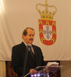 D. Duarte Pio, Duke of Braganza, Head of the House of Braganza and recognized pretender to the Crown of Portugal since 1976.