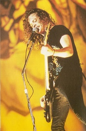 Jason Newsted joined Metallica soon after Cliff Burton's death in 1986.