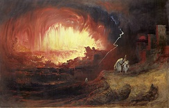 The Destruction of Sodom and Gomorrah, 1852