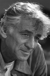 Leonard Bernstein (1918–1990), photographed on 1 September 1971, whose works are published by Boosey & Hawkes.