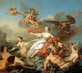 The abduction of Europa from Zeus