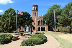Hardin Administration Building at Midwestern State University