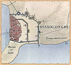 Missolonghi fortifications