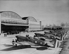 "FAFL Free French GC II/5 ""LaFayette"" receiving ex-USAAF Curtiss P-40 fighters at Casablanca, French Morocco"
