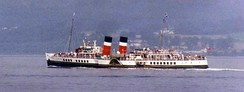 PS Waverley, the last seagoing paddle steamer