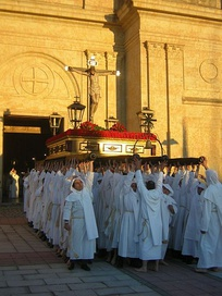 Holy Week procession.
