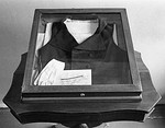 The vest Pushkin wore during his fatal duel in 1837
