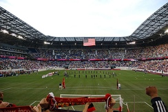 Opening day at Red Bull Arena against Santos FC, March 20, 2010