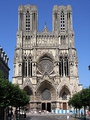 The seat of the Archdiocese of Reims is Notre-Dame de Reims.