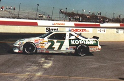 1989 car at Phoenix with Kodiak paint scheme