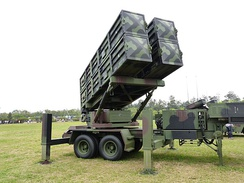 Tien Kung Ⅱ Missile Launcher Display at Hukou Camp Ground