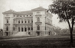 Residence Palace of the French Governor-General in Tonkin, French Indochina.