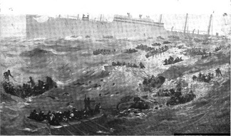 Sinking of the USS President Lincoln