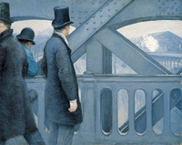 Gustave Caillebotte, On the Pont de l'Europe, 1876-1877
