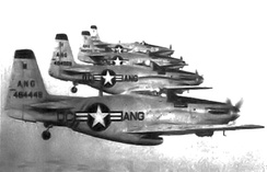 District of Columbia Air National Guard F-51H Mustangs, 1949