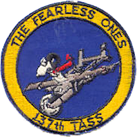 137th Tactical Air Support Squadron emblem