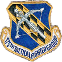 Legacy 175th Tactical Fighter Group emblem