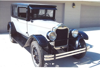 1926 Flint Jr. Z18 Deluxe Coupe located in Stratford, Iowa, USA