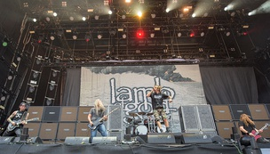 Lamb of God in 2015